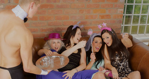 Hen party at home
