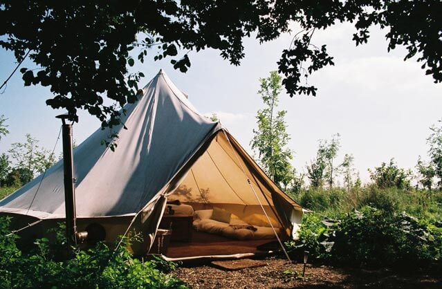 Glamping in Bath