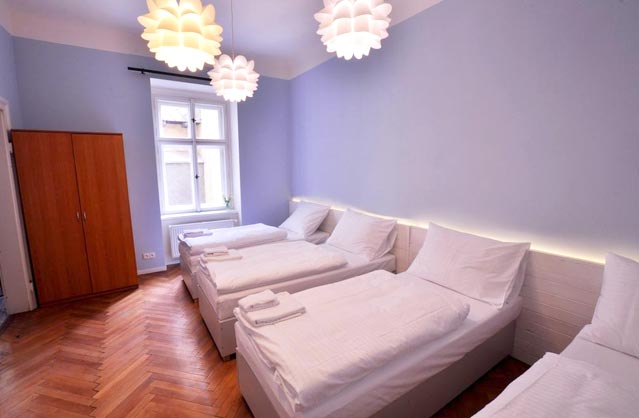 Prague accommodation