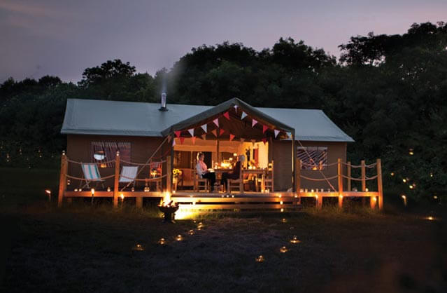 Golden Triangle Glamping in Norwich