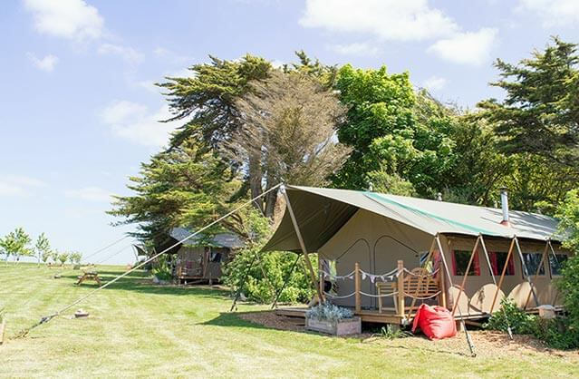 Glamping in Isle of Wight