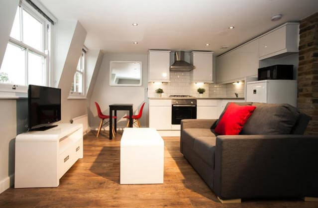 self catering in London