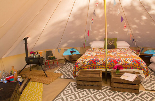 Glamping in Norwich