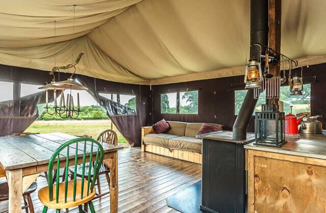 Glamping in Exeter