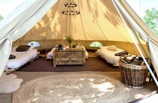 Roman Glamping in Bath