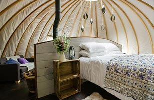Persian Glamping in Cardiff