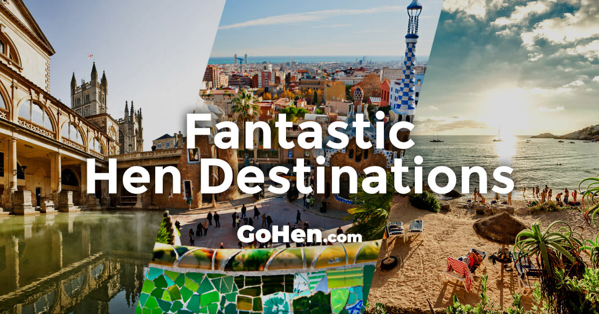 Over 70 Hen Do Destinations | Hen Party Destinations | GoHen com