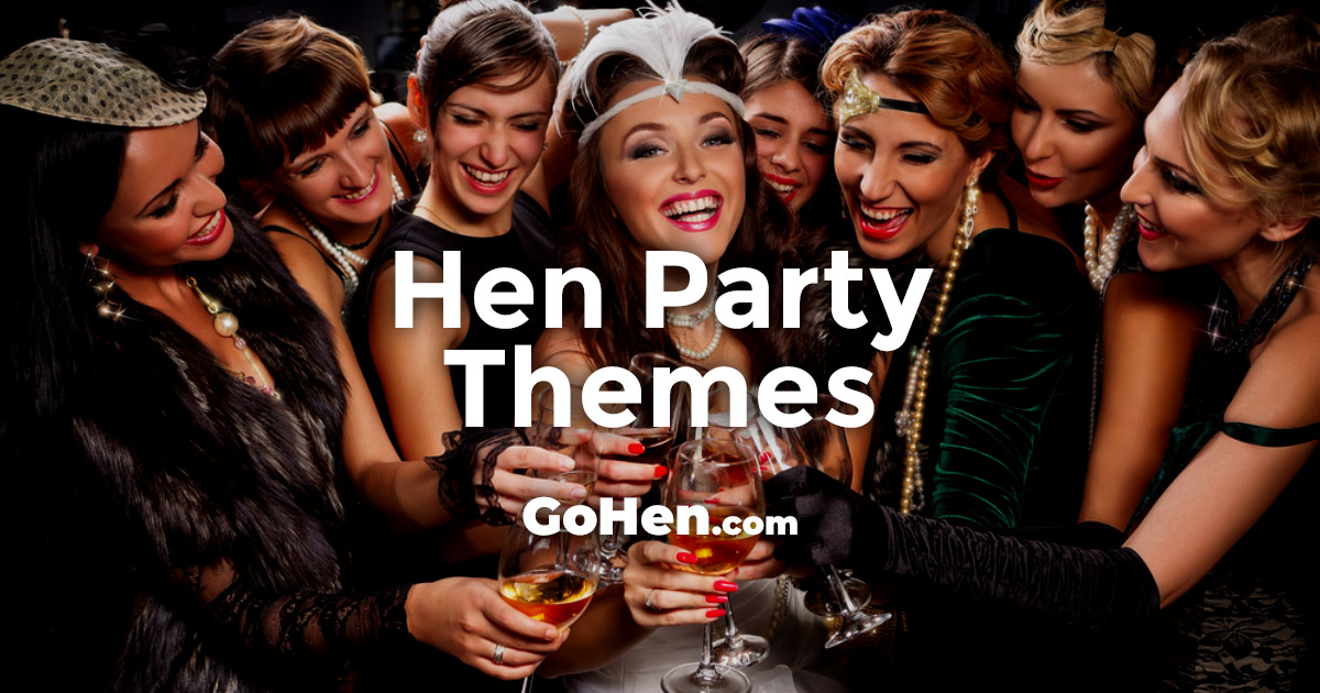 7a98683c463df 14 of the Best Hen Party Themes | GoHen.com